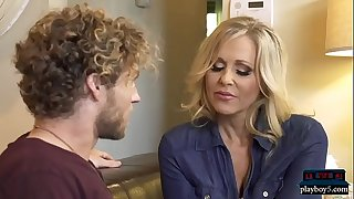 Mature MILF mom Julia Ann smallish a much younger guy