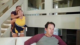 Teens like it BIG - (Gia Derza, Xander Corvus) - Cheeky Cheerleader