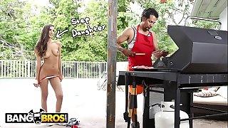 BANGBROS - Teen Gianna Dior Fucks Her Step Dad On Father's Day