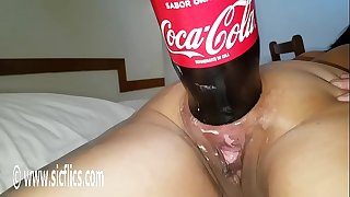 XXXL Anal cola bottle fucking destruction