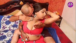Hot Indian house wifey romance with husband pal (new)