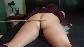 Hard beating for wife