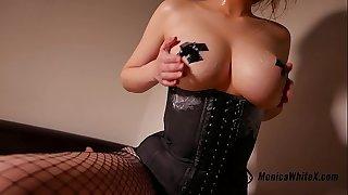 Big Tits Teen Play Pussy and Handjob Rock hard Cock