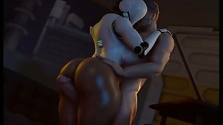 Big Booty Robot Gets Her Big Ass FUCKED - Haydee SFM Porno Compilation Finest of 2018 (Sound)
