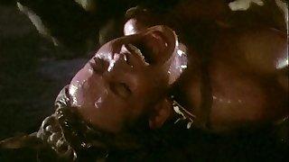 Galaxy Of Terror Giant Worm Sex Scene 9
