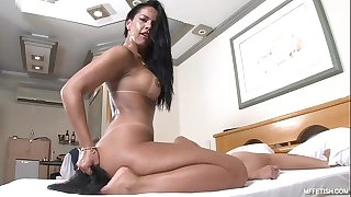 Fierce Face Fucking with Nanda Rios - Cold-Blooded Brazilian Domina