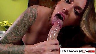 FirstClassPOV - Juelz Ventura big-boobed a monster cock, bubble butt & huge tits