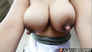 Asian Sex Diary - Adorable chubby Filipina Mummy with big ol' titties