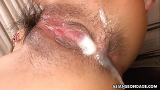 Creaming all over the wet vagina of a sexy bitch