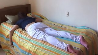 Teenage sister fucked while sleeping